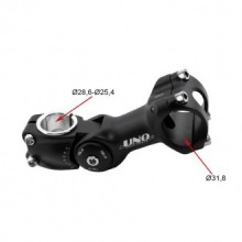 Potencia A head Ahead UNO Regulable Negro 25.4 a 28.6 mm Bicicleta MTB 31.8 3374